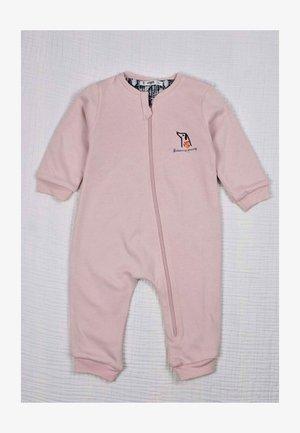 Overall / Jumpsuit /Buksedragter - powder pink