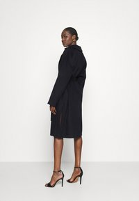 Who What Wear - BELTED COAT - Classic coat - navy - 2