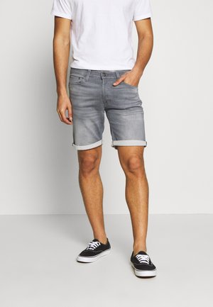 JJIRICK JJICON - Jeansshorts - grey denim