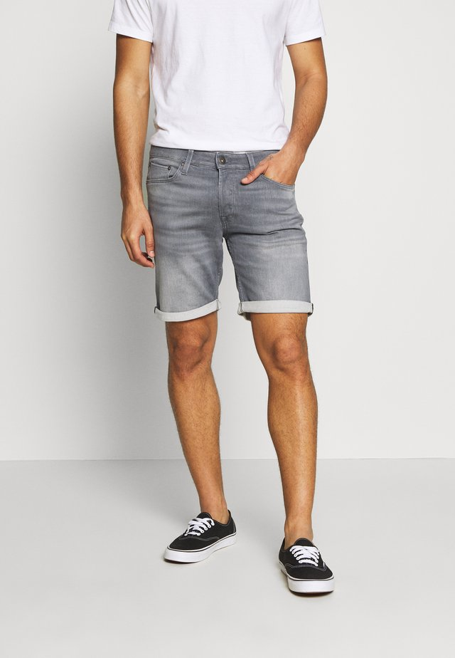 JJIRICK JJICON - Short en jean - grey denim