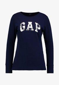 GAP - ARCH TEE - Langærmede T-shirts - navy uniform - 3