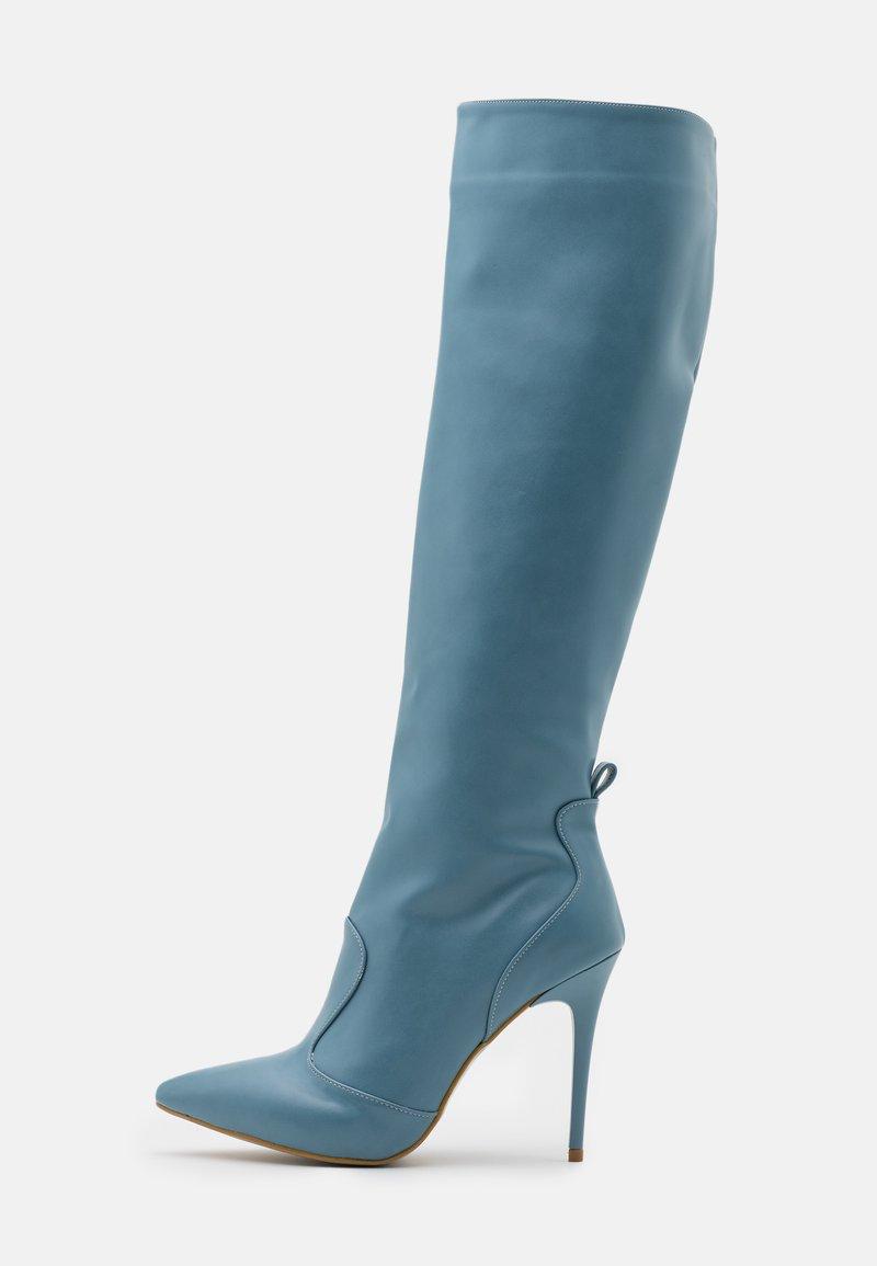 Trendyol - Bottes à talons hauts - blue