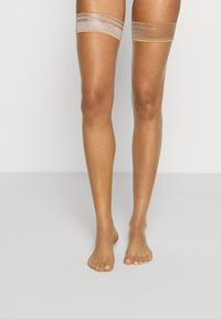 KUNERT - BEAUTY - Over-the-knee socks - cashmere - 0