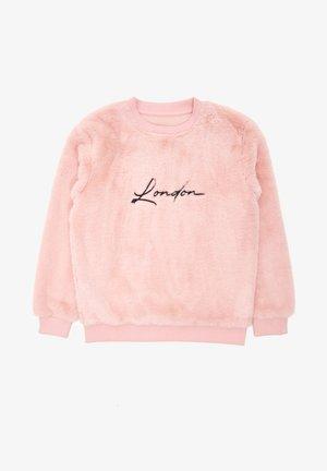 Fleece trui - pink