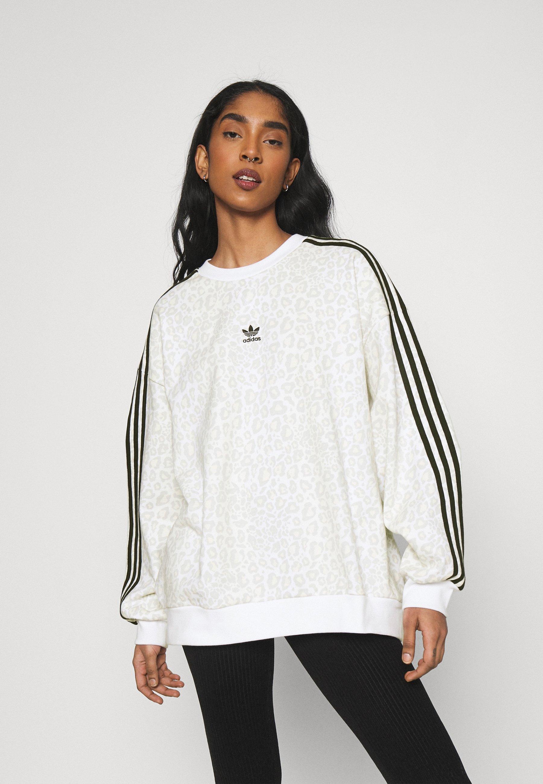 Women LEOPARD CREW - Sweatshirt
