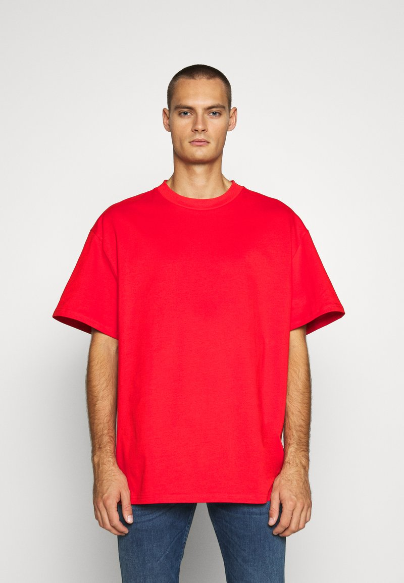 Weekday - GREAT - T-shirt - bas - red