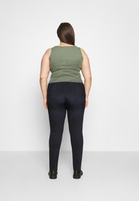 Zizzi - AMY SHAPE - Jeans Skinny Fit - dark blue denim - 2