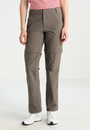 EXPLORATION CONVERTIBLE PANT - Outdoor trousers - brown