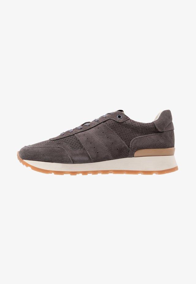 SLHFRANK MIX RUNNER  - Sneakers laag - dark grey