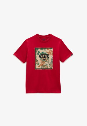 BY AUTUMN PRINT BOX BOYS SS - Print T-shirt - chili pepper