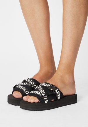 RURI - Sandały na obcasie - black