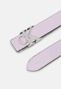 Calvin Klein Jeans - LOGO - Belt - pink - 1