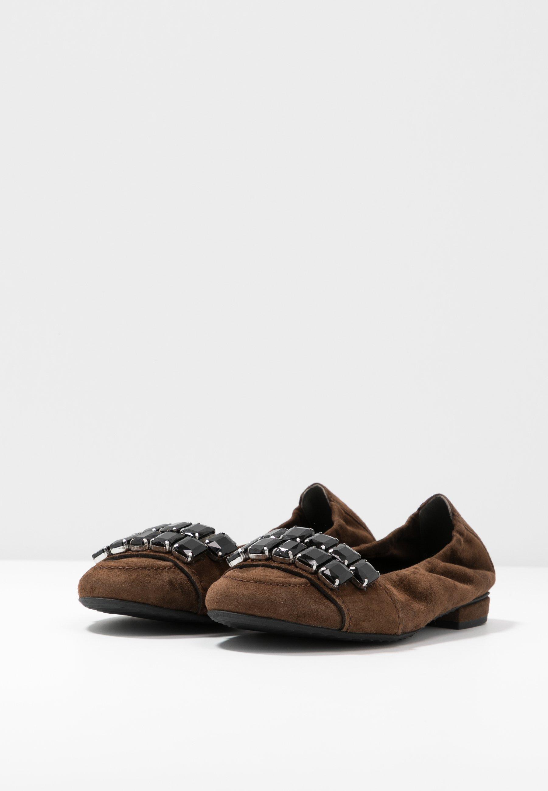 Kennel + Schmenger MALU Klassischer Ballerina cocoa/black/schwarz