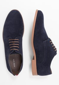 Pier One - Smart lace-ups - dark blue - 1