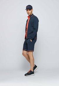 BOSS - SKAZ - Zip-up sweatshirt - dark blue - 1