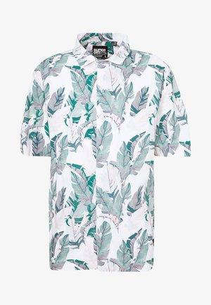 HAWAIIAN BOX - Košile - feather leaf white