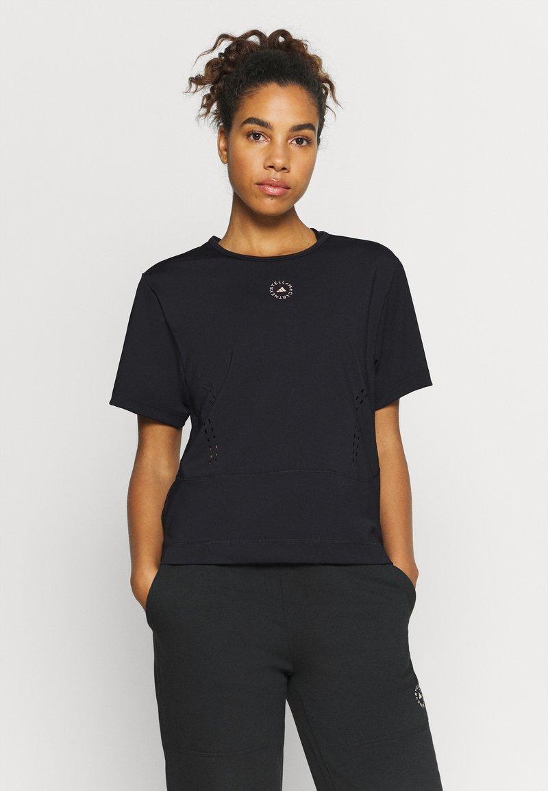 adidas by Stella McCartney - TEE - Camiseta estampada - black