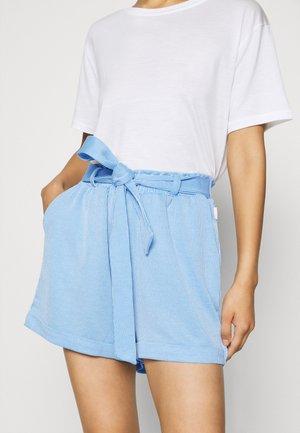 STRIPED  - Shorts - blue/white