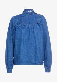 CLOSED - DANNI - Blouse - mid blue - 4