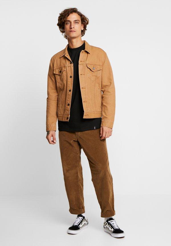 HUF EMBER ROSE TEE - T-shirt z nadrukiem - black/czarny Odzież Męska MUIM