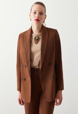 Żakiet - brown