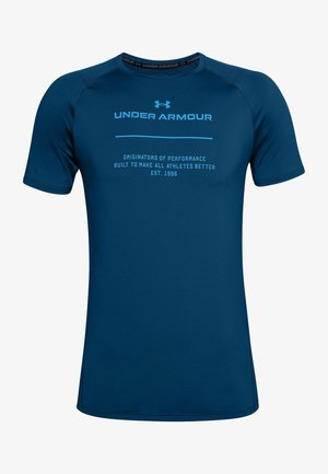 T-shirt print - graphite blue