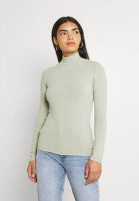 EDITED - MANON LONGSLEEVE - Long sleeved top - desert sage green - 0