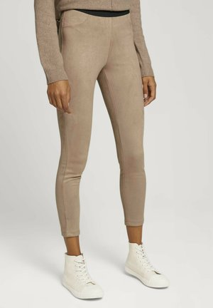 Trousers - french clay beige