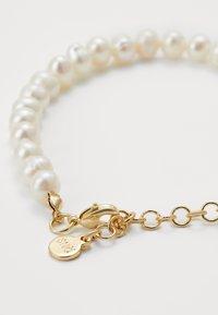 SNÖ of Sweden - MAXIME PEARL BRACE - Bracelet - white - 1