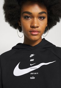 Nike Sportswear - HOODIE - Kapuzenpullover - black/white - 4