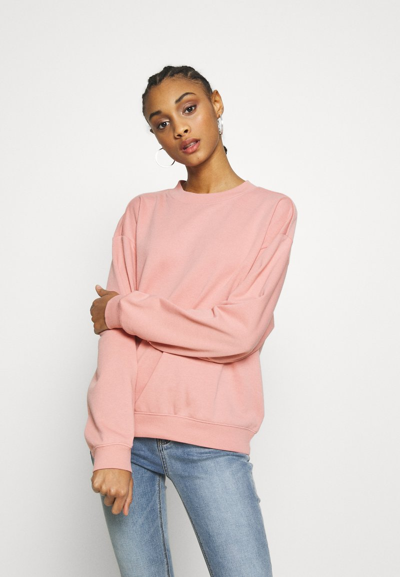 Monki - Sweatshirts - pink dusty