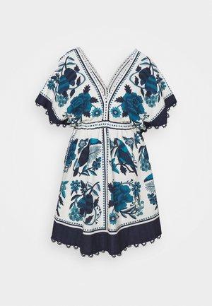 TROPICAL TILES MINI DRESS - Denní šaty - multi