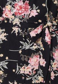 Pieces - PCPAOLA LS DRESS - Shirt dress - black - 6