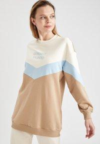 DeFacto - Sweatshirt - beige - 0