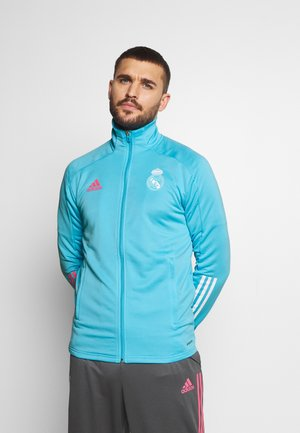 REAL MADRID AEROREADY FOOTBALL TRACKSUIT SET - Equipación de clubes - brcyan
