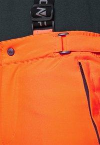 CMP - MAN PANT - Spodnie narciarskie - orange fluo - 8
