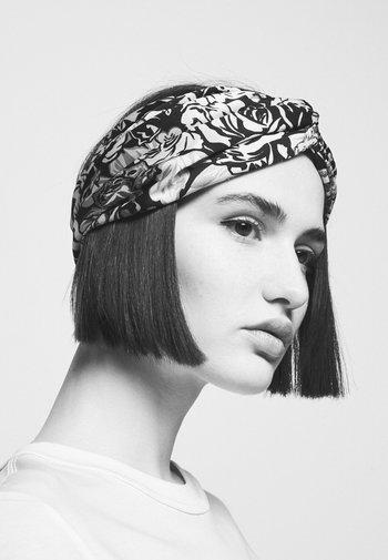 FASCIA CON NODO - Hair Styling Accessory - bianco/nero/oro