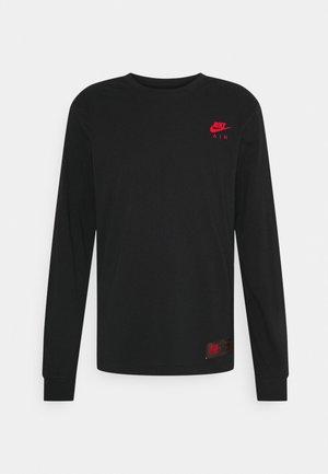 TEE AIR - Long sleeved top - black