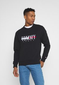Tommy Jeans - TIMELESS CREW UNISEX - Sweatshirt - black - 0