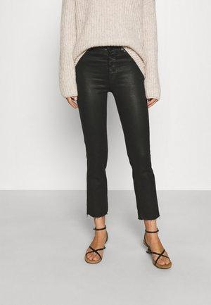 THE STRAIGHT CROP COASLIILL - Jeans Slim Fit - black