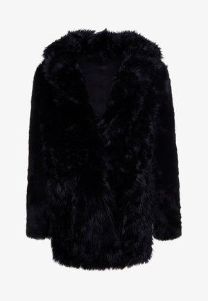 ALEXIA REVERSIBLE COAT - Leather jacket - black
