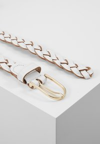Vanzetti - Braided belt - white - 2