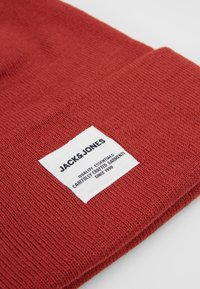 Jack & Jones - JACLONG BEANIE - Čepice - brick red - 4