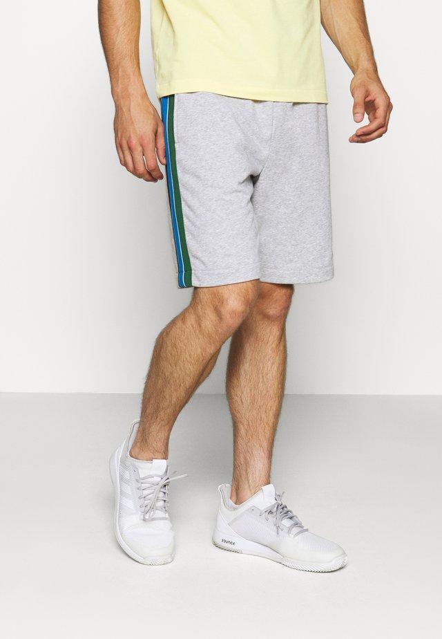 SHORT - Pantaloncini sportivi - silver chine/navy blue/ultramarine/green/white