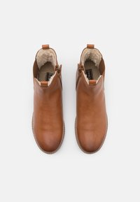 Friboo - LEATHER BOOTIES - Classic ankle boots - cognac - 3