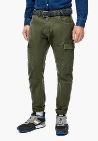 s.Oliver - Cargo trousers - khaki - 0