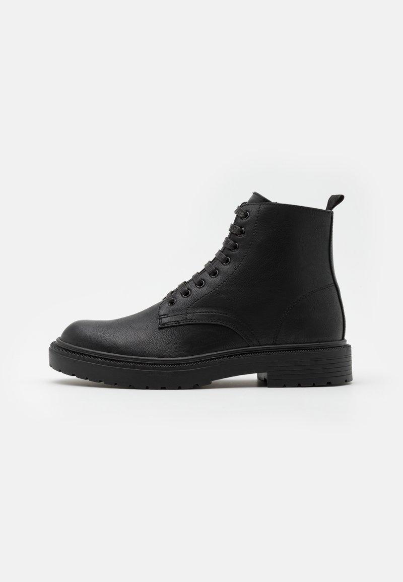 Topman - HECTOR - Šněrovací kotníkové boty - black