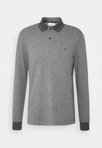 Calvin Klein - LONG SLEEVE  - Polo shirt - grey - 0