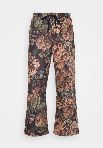 VINTAGE FLORAL PRINTED - Tracksuit bottoms - multicolored