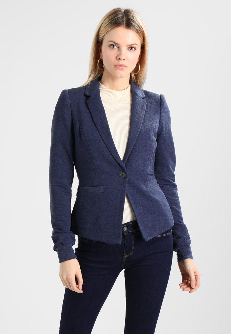 Damen EVA - Blazer - blue iris melange